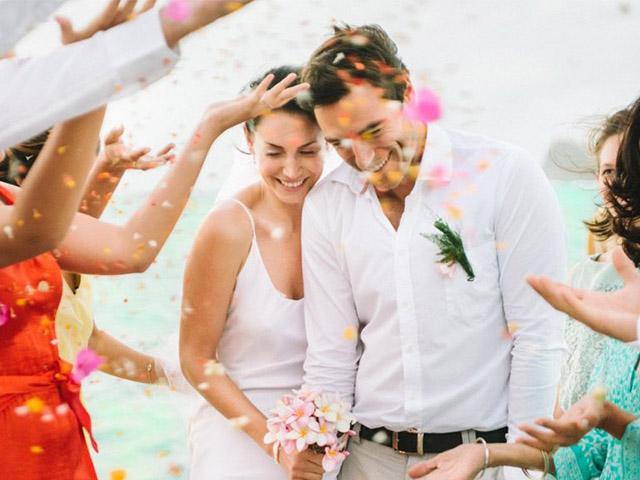 Mariage au Paradise Cove Boutique Hôtel à l'Île Maurice