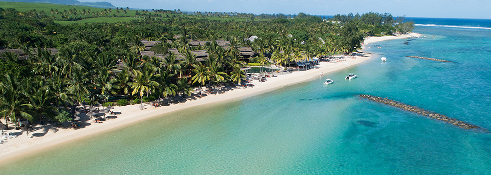 La plage de l'Heritage Awali Golf & Spa Resort