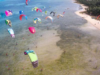 Kitesurf à Rodrigues