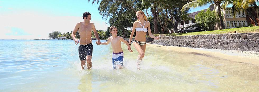 En famille au Club Med La Pointe aux Canonniers