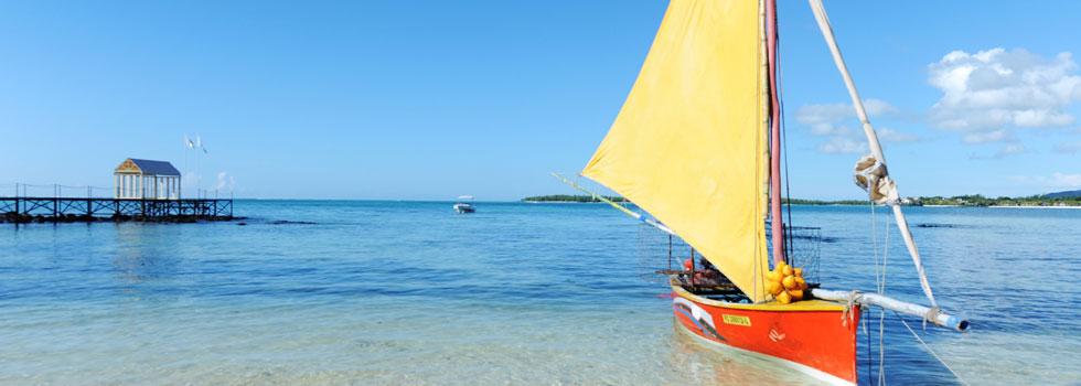 Plage du Tropical Attitude à l'île Maurice