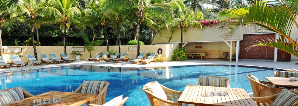 Piscine du Tropical Attitude à l'île Maurice