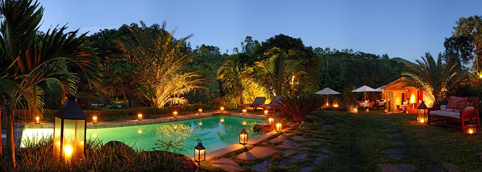 Hôtel Lakaz Chamarel à l'île Maurice