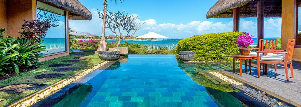 Hôtel THE OBEROI - île Maurice - piscine royal villa