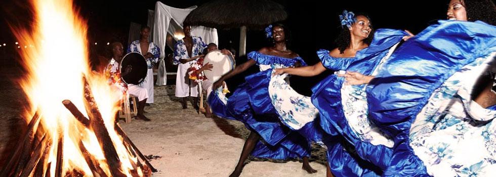 Ambiance festive au Shanti Maurice