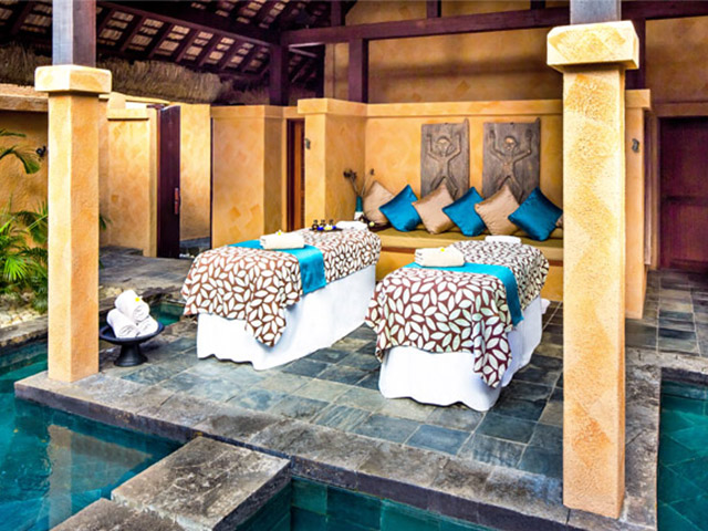 Massage au SPA de l'Oberoi à l'île Maurice