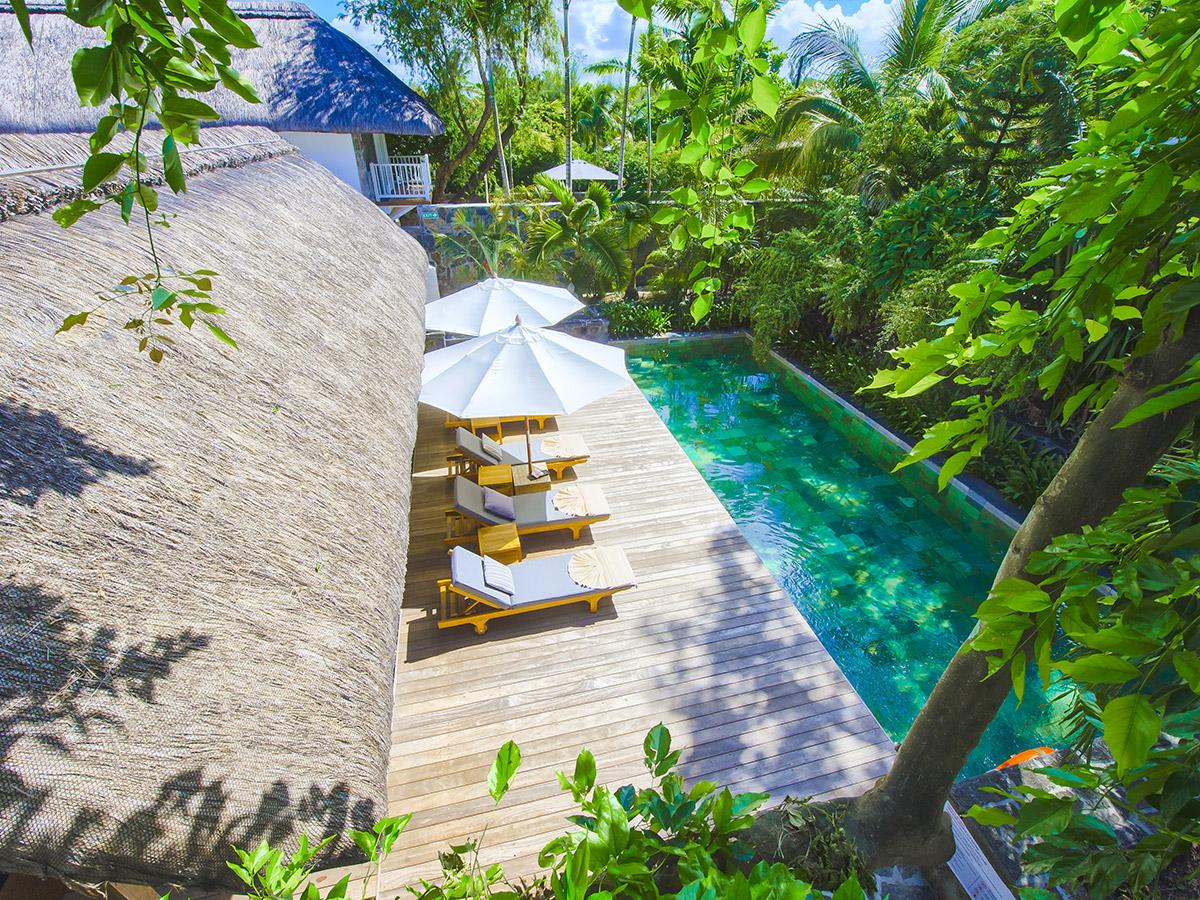Voyage de noces à l'hôtel 20 degrés sud à l'île Maurice