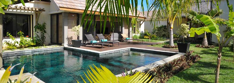 Les villas Oasis à l'île Maurice