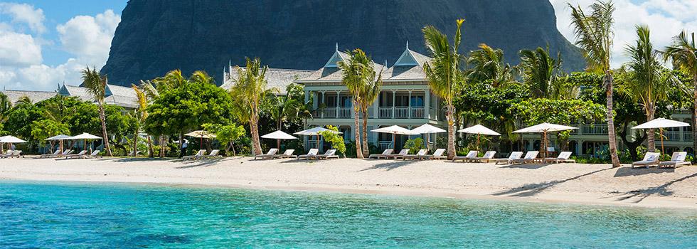 Vue de l'hôtel JW Marriott Mauritius Resort