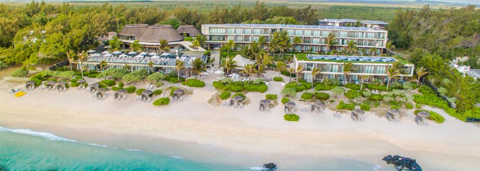 Vue de l'hôtel Centara Poste Lafayette Resort and Spa à l'île Maurice