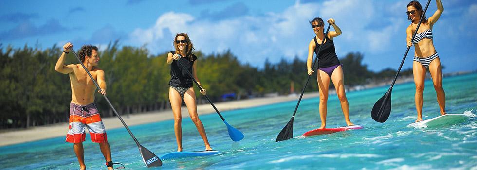 Sport au  DINAROBIN à l'île Maurice