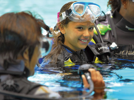 cours de plongée au canonnier ile maurice