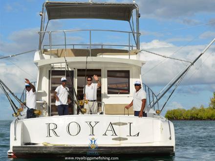 Pêche au gros à l'île Maurice