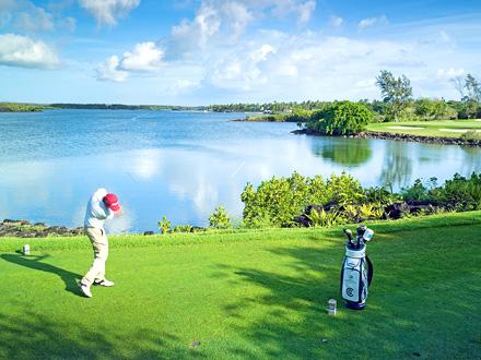 Golf au Prince Maurice