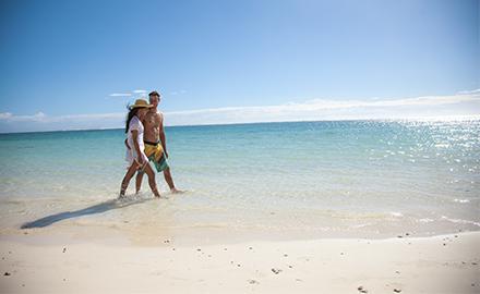 voyage romantique à l'île Maurice