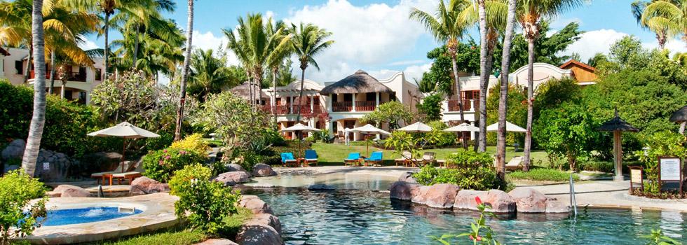 Piscine de l'hôtel Hilton à l'île Maurice