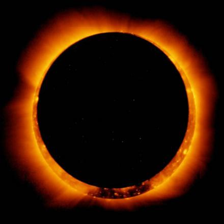 Une éclipse annulaire de soleil visible à l'île Maurice