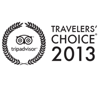 Travellers Choice Award 2013