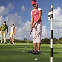 Compétition de Golf Junior à l'île Maurice