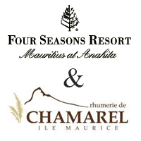 Logo Four Seasons et Rhumerie de Chamarel