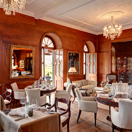 Dîner de haute gastronomie au Heritage Le Telfair Golf & Wellness Resort