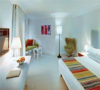 Les chambres redécorées de l'hôtel Ambre