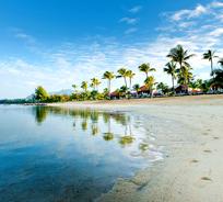 La nouvelle plage du Tamassa