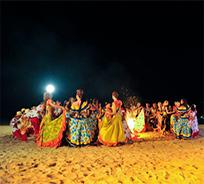 Les prétendantes à la couronne Miss France à l'île Maurice, au LUX Grand Gaube