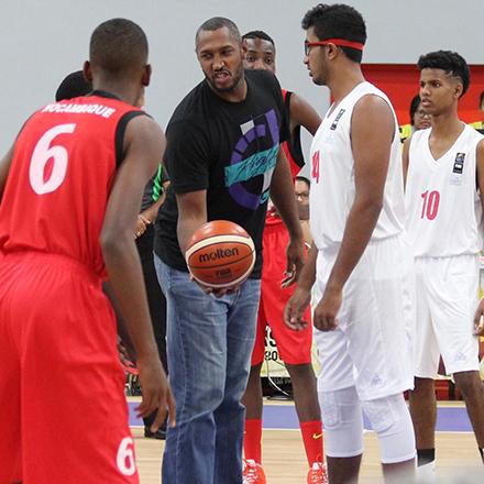 Une star de la NBA à l'île Maurice