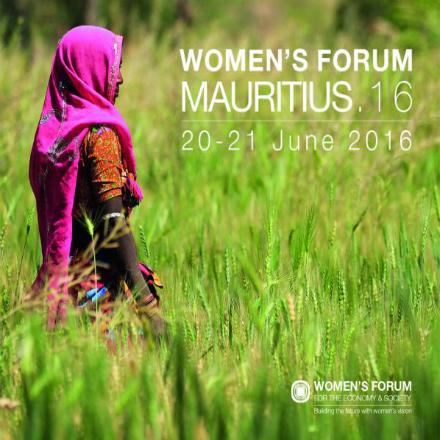 Women's Forum 2016 à l'île Maurice
