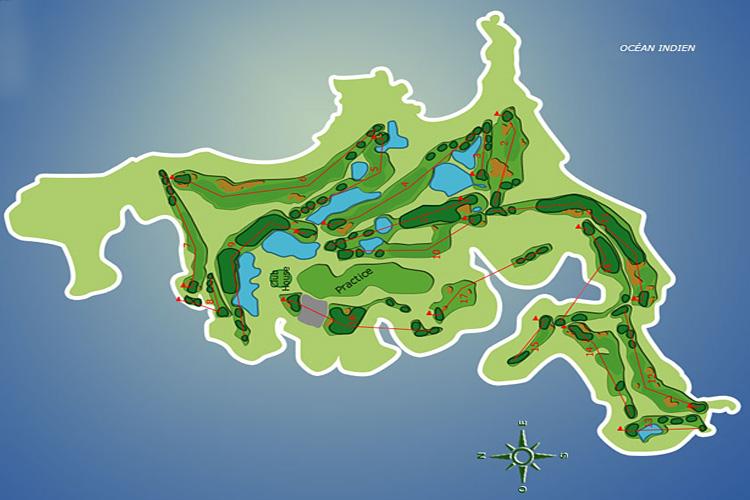 L 238 Le Aux Cerfs Golf Course 224 L 238 Le Maurice Mauritius Travel